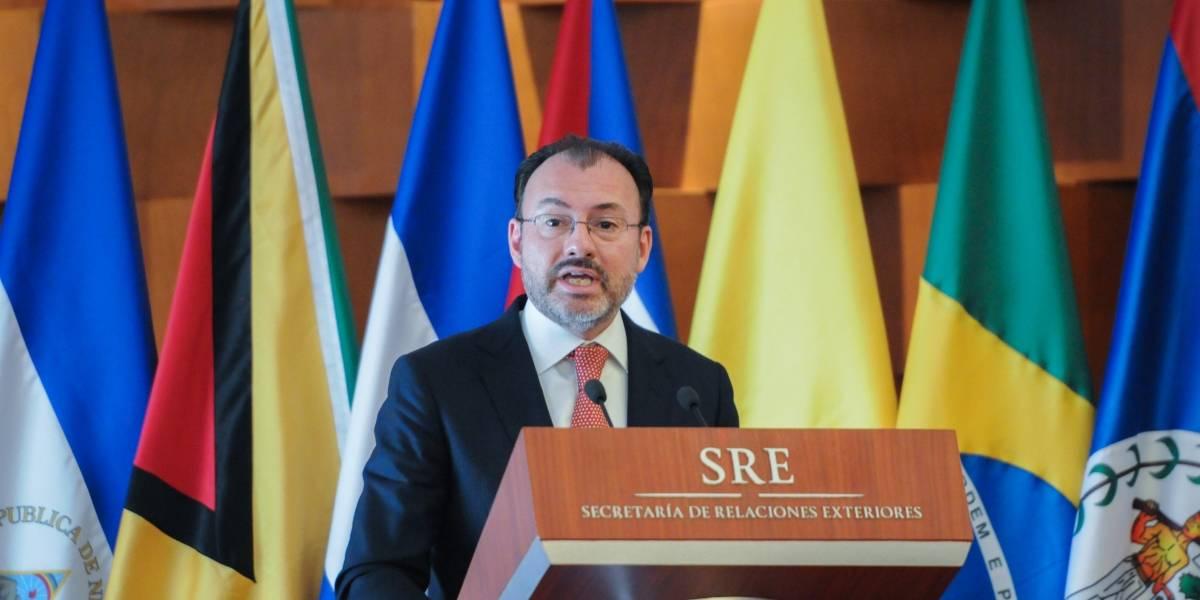 Videgaray participa en reunión del Grupo de Lima para analizar situación en Venezuela