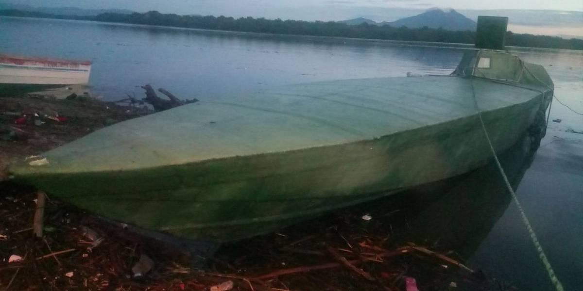 Detienen en El Salvador a guatemalteco señalado de traficar cocaína en un sumergible