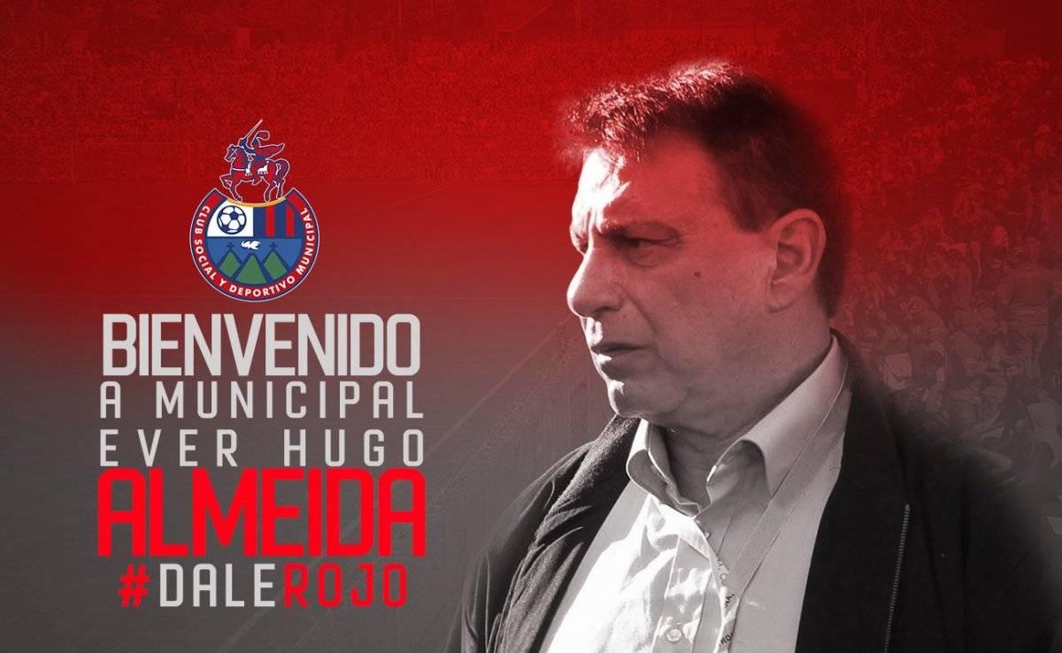 Ever Almeida nuevo técnico rojo