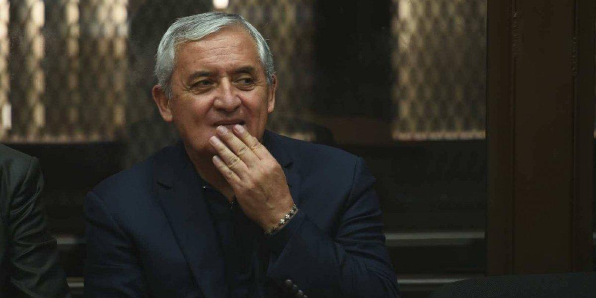 Pérez Molina busca anular resolución que lo envió a juicio en el caso La Línea