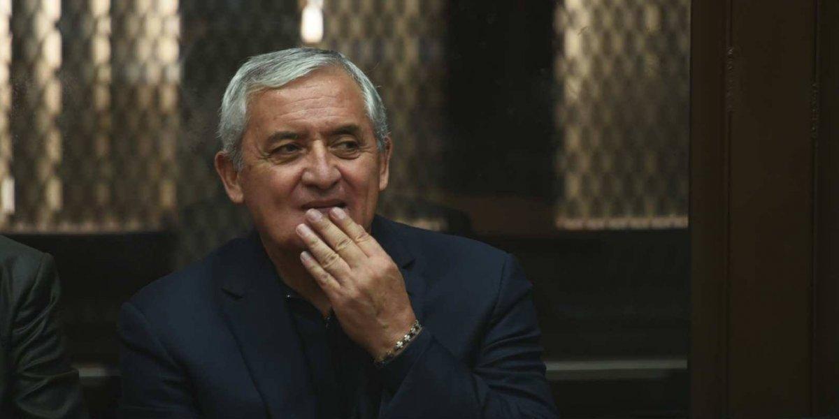 Pérez Molina pedirá libertad por problemas de salud