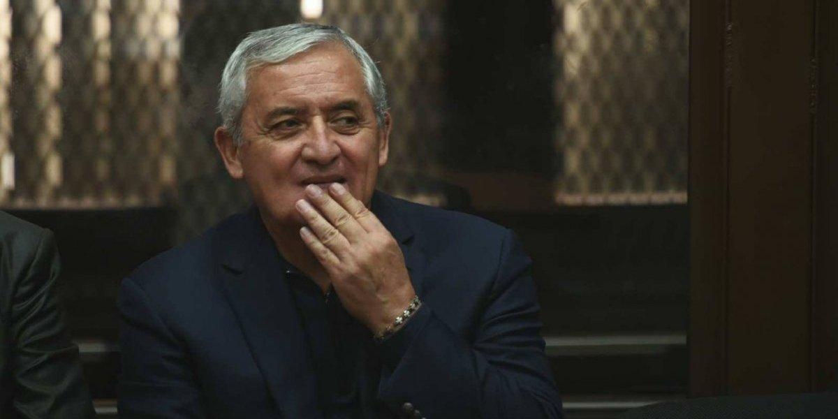 Trasladan a expresidente Pérez Molina a hospital — Guatemala