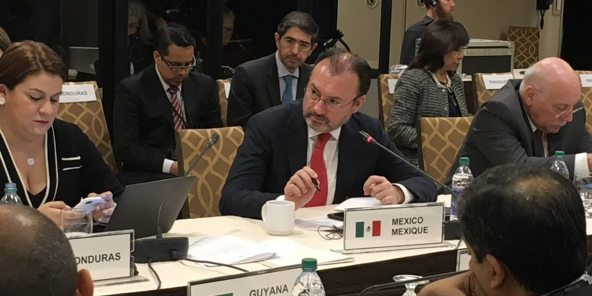Grupo de Lima desconoce elecciones a gobernador en Venezuela