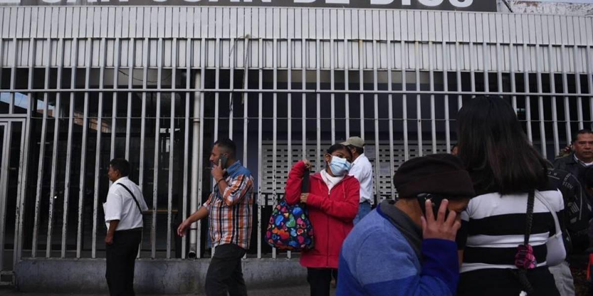Consulta externa del Hospital General permanece cerrada este jueves