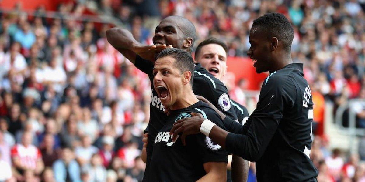 Chicharito y West Ham enfrentarán al Arsenal en la Copa de la Liga