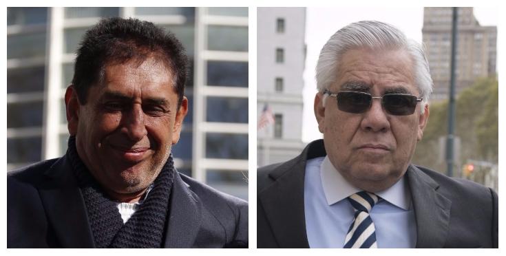 Brayan Jiménez y Héctor Trujillo