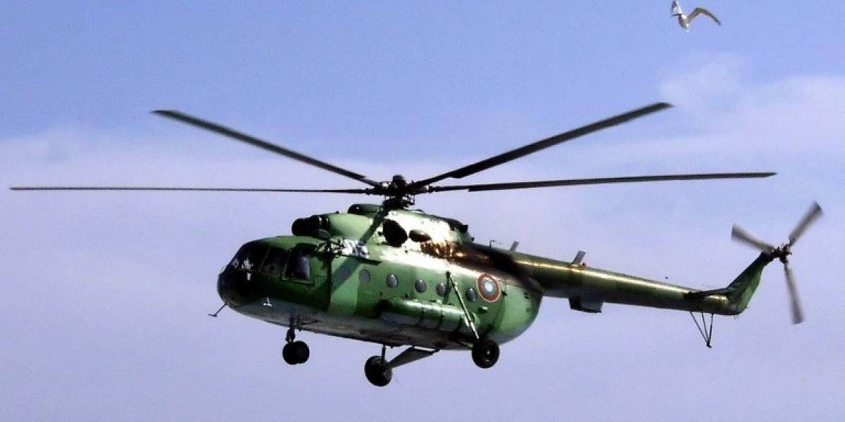 Helicóptero ruso se estrella en el Ártico noruego