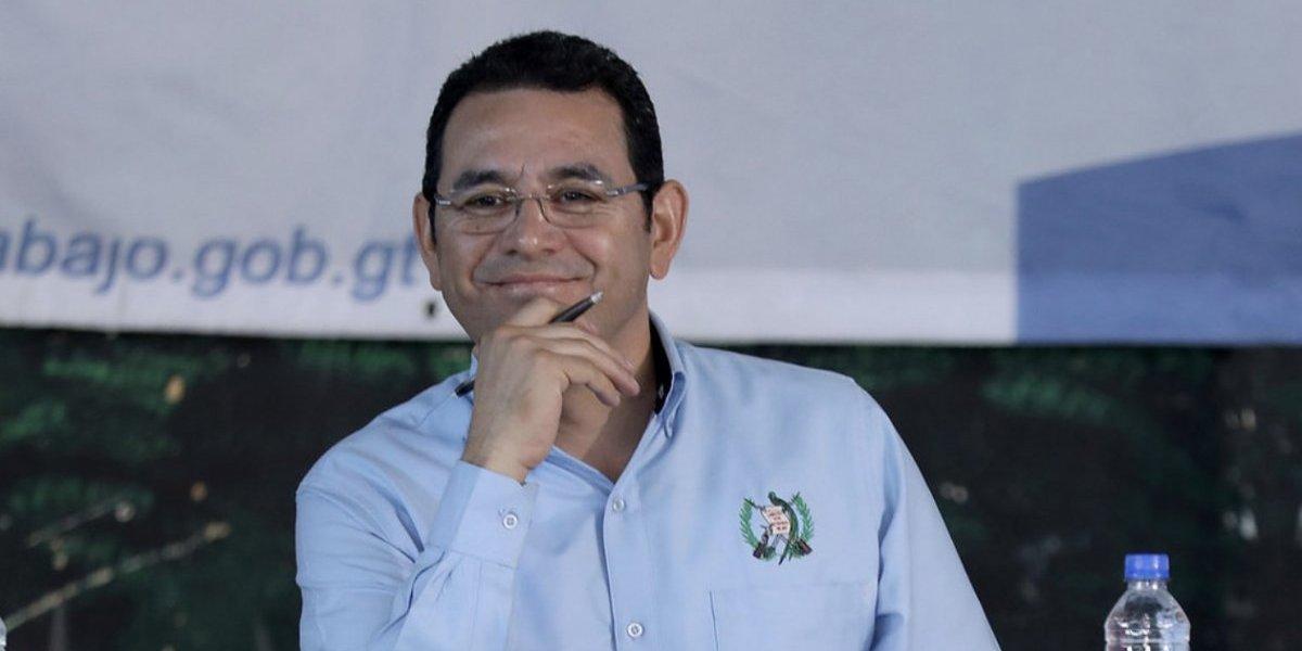 """Jimmy Morales dice que Sammy """"es uno de los mejores comunicadores de Centroamérica"""""""