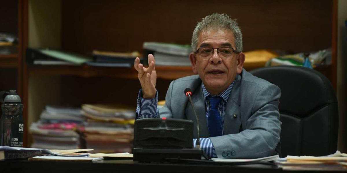 """Juez Gálvez: """"Me voy a ver en la necesidad de meterlos en la carceleta"""""""