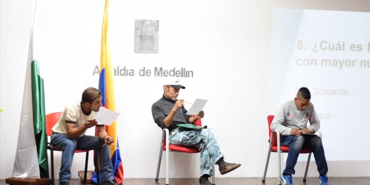 Ex habitantes de calle en Medellín se midieron en Olimpiadas Saber