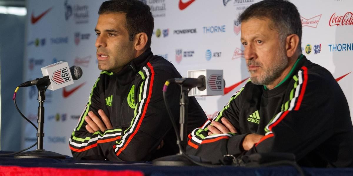 Regresó Márquez, pero Osorio lo descartó para el Tricolor