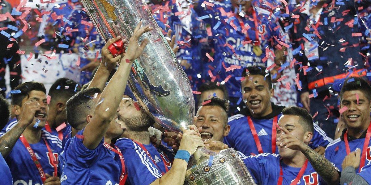 La U arrastra una formidable racha jugando finales de Copa Chile