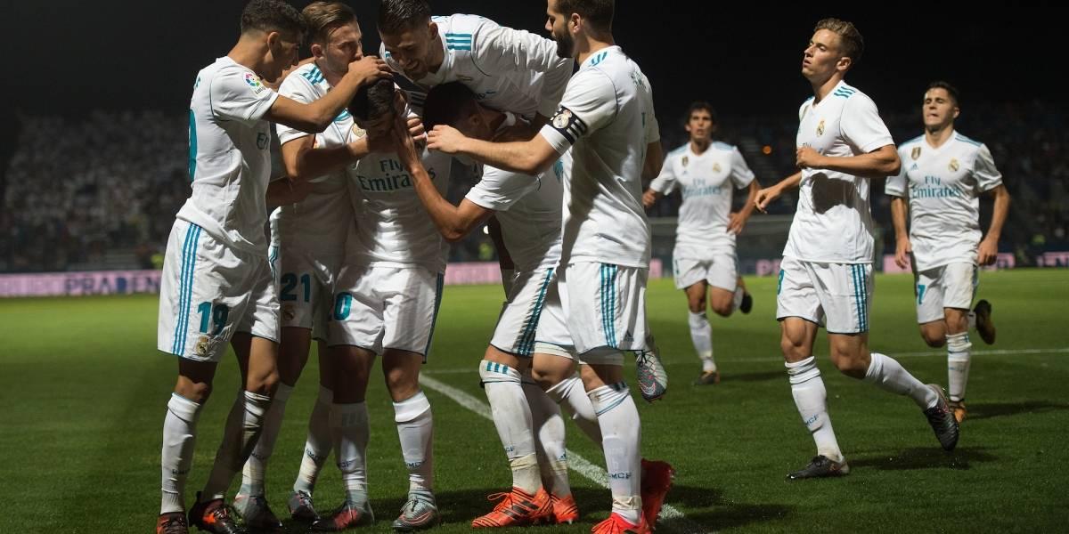 El Real Madrid vence sin problemas al Fuenlabrada en Copa del Rey