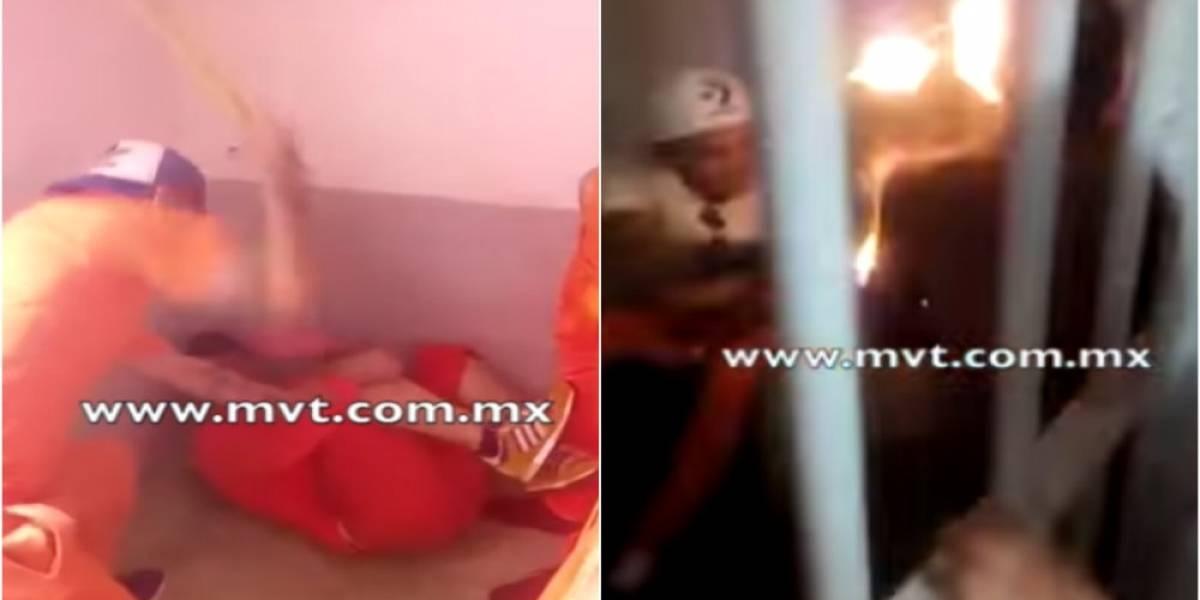 VIDEO: Así torturan y extorsionan a reos en prisión del Edomex