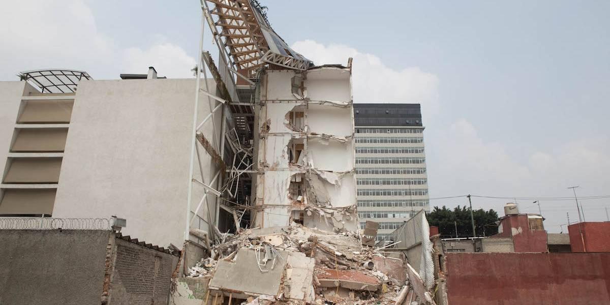 Cae dueño de edificio mal hecho que colapsó el 19-S