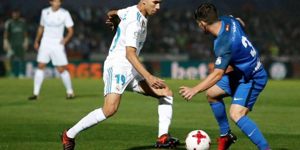 El Madrid vence al modesto Fuenlabrada y pone un pie en los octavos de Copa
