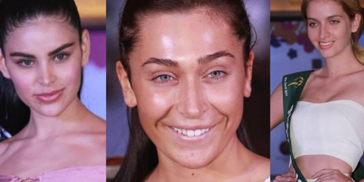 Candidatas de Miss Earth 2017 se muestran sin maquillaje