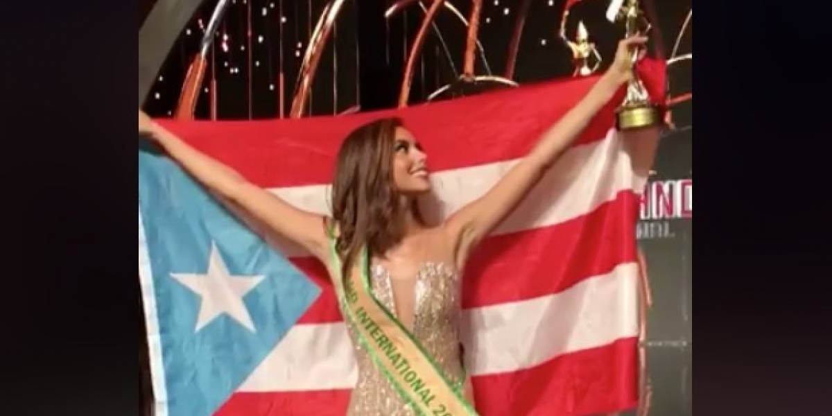 """Brenda Azaria: """"Puerto Rico, esto fue por ustedes"""""""