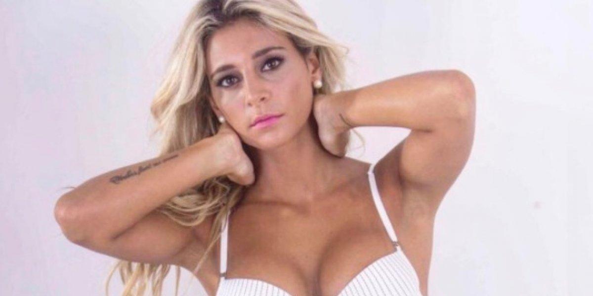 """El sensual baile con poca ropa que hizo la presentadora argentina """"más sexy del clima"""""""