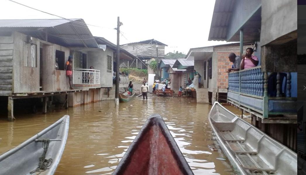 Desbordamiento del río Timbiquí deja a 11 mil familias damnificadas