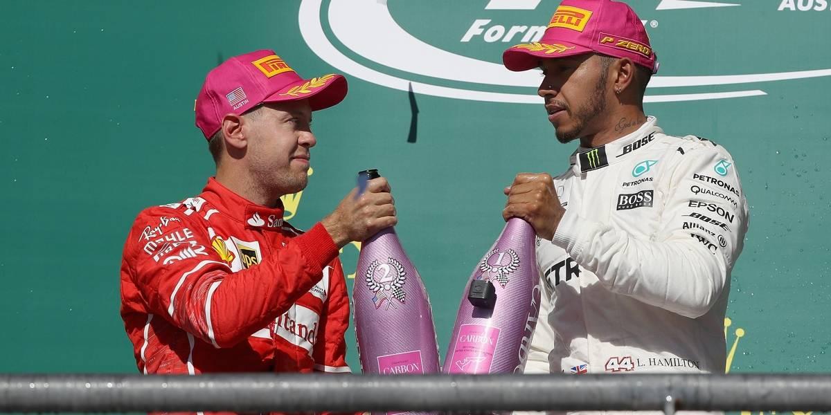 Hamilton vê Fórmula 1 valorizada com dois tetracampeões em ação