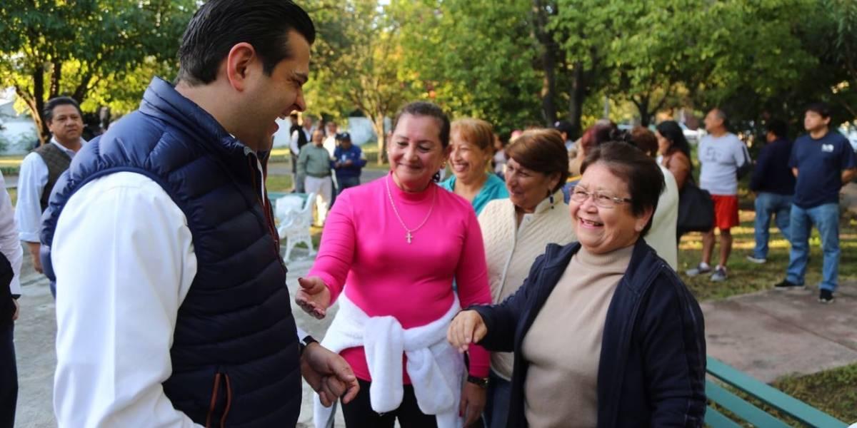 Rehabilitan dos plazas públicas más en Guadalupe, NL