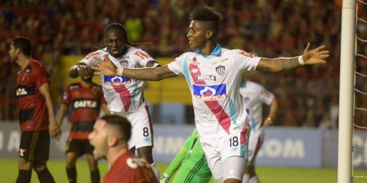 Eugenio Mena y Sport Recife sufrieron dura derrota en la Copa Sudamericana