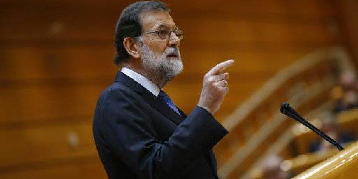 Rajoy: parlamento catalán entrará en funciones 17 de enero