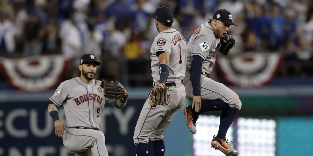 Serie Mundial se traslada a Houston y los Astros no quieren problemas