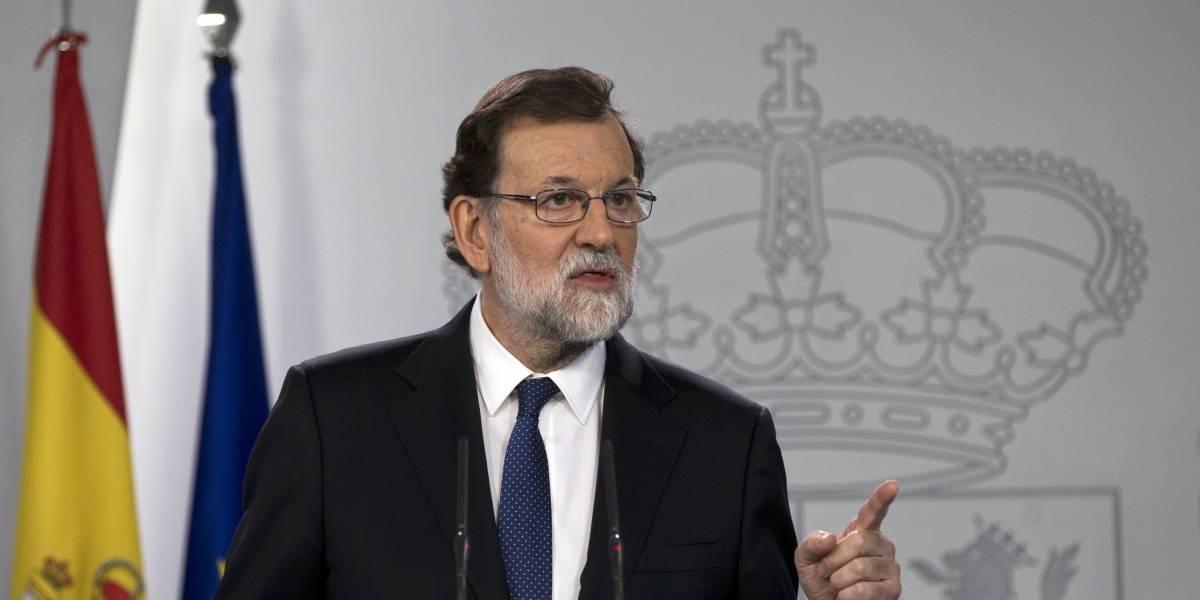 Mariano Rajoy disuelve el Parlamento de Cataluña y convoca a elecciones