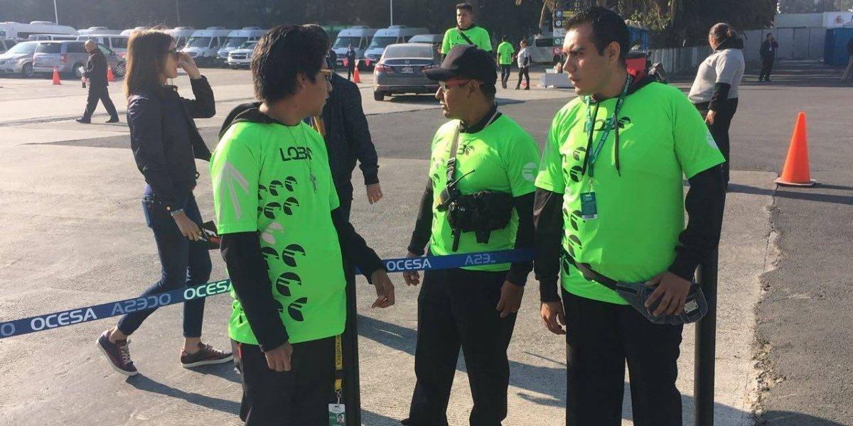 Grupo Lobo, el encargado de la seguridad en el GP de México