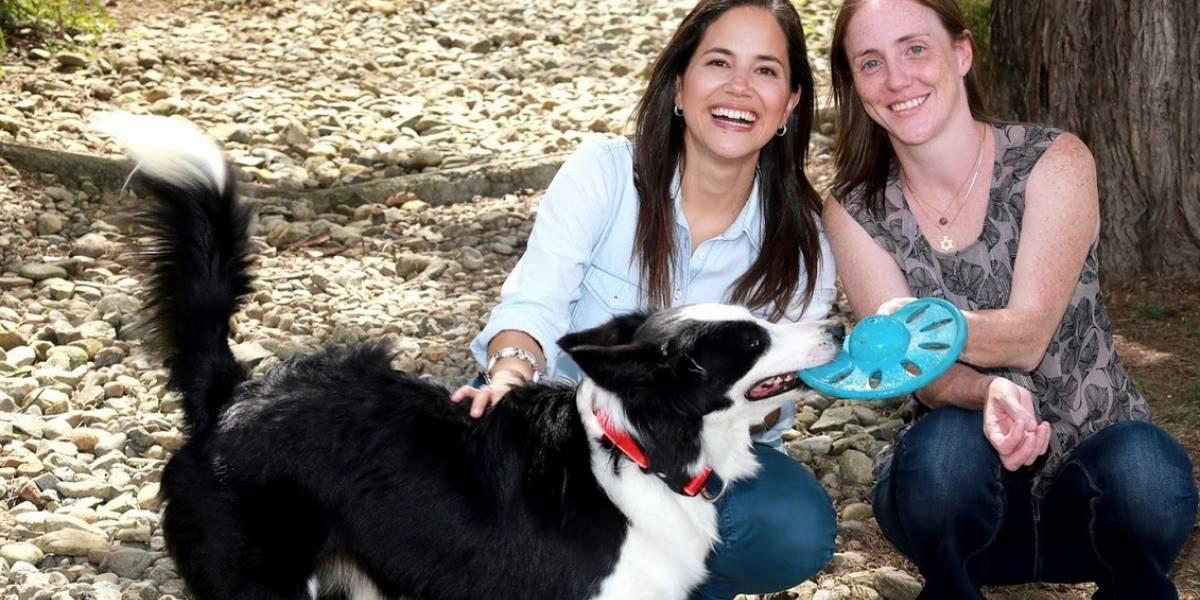 Ellas son Claudia y Karolynn, las dos colombianas que hablan con los animales
