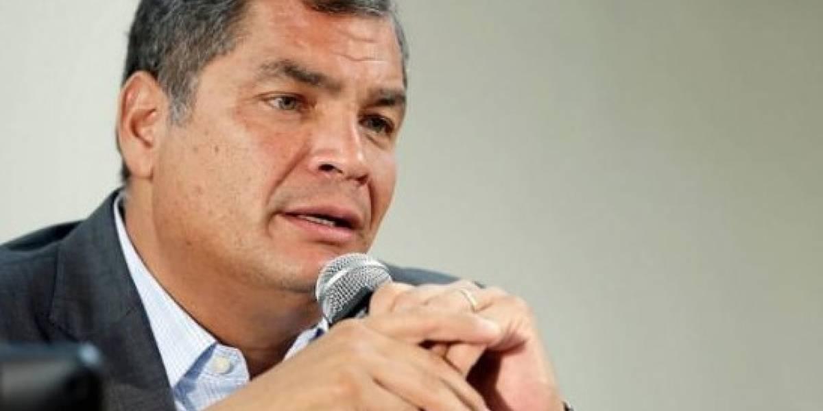 Rafael Correa habló sobre pedido de destitución a Jorge G.