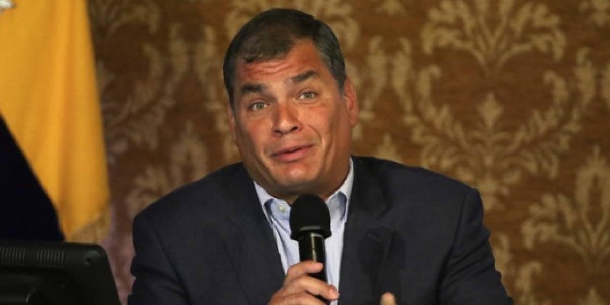 Rafael Correa: Estamos enfrentando el mayor de los enemigos