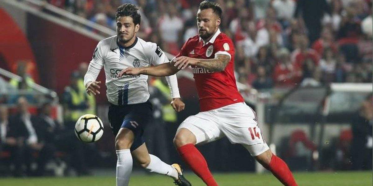 Benfica se impone 1-0 a Feirense en duelo con mexicanos