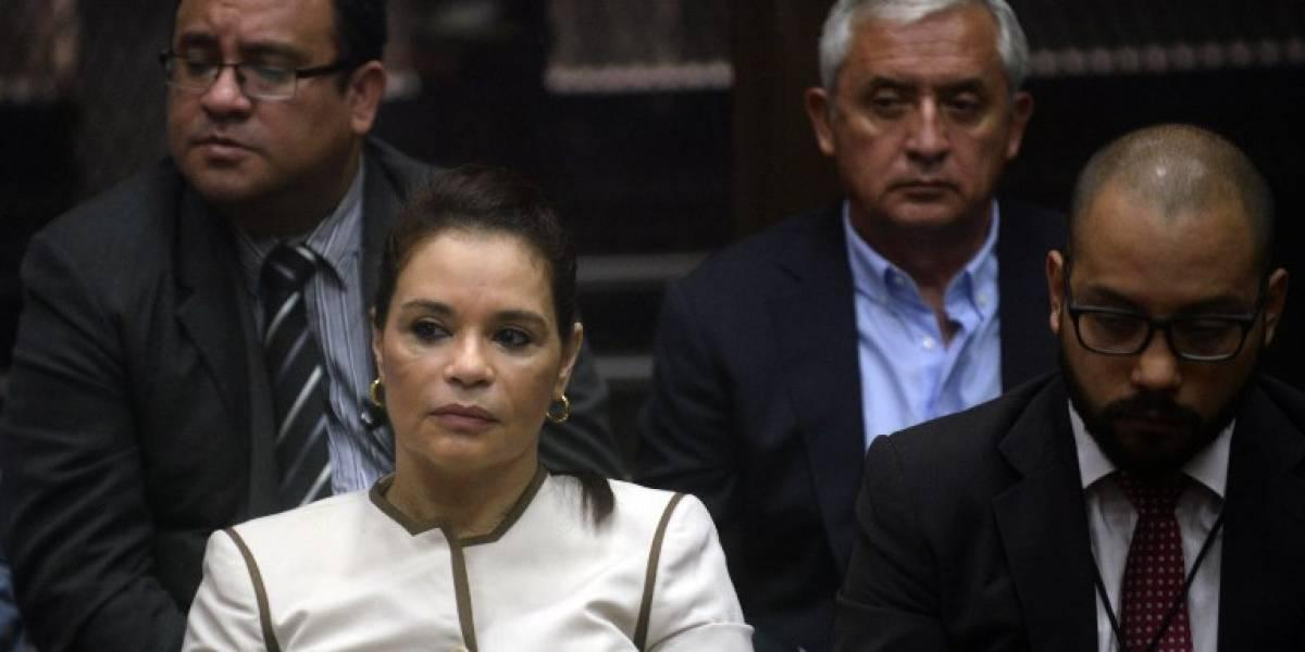 #CasoLaLínea Otto Pérez y Roxana Baldetti van a juicio