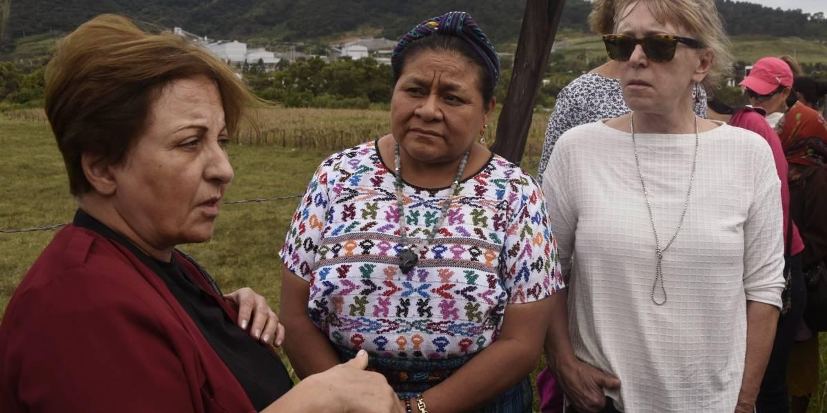 Ganadoras del Premio Nobel de la Paz demandan cese de la minería en Guatemala