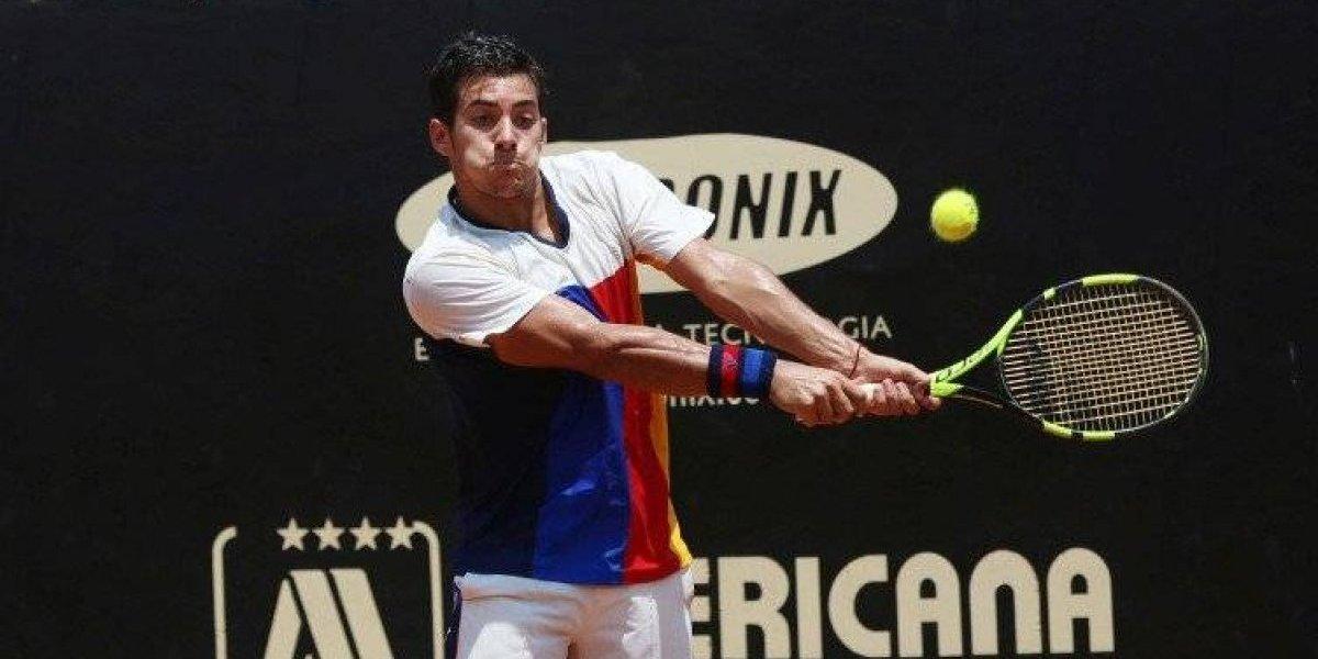 En caída libre: Garín perderá casi 70 puestos en el ranking ATP