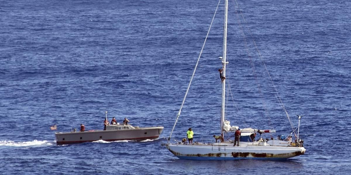 Rescatan a dos mujeres tras estar cinco meses a la deriva en el mar