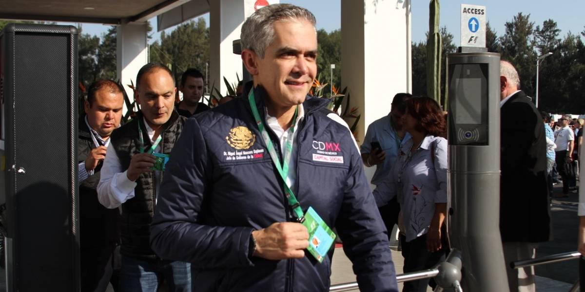 'Todo está funcionando bien en el GP de México': Mancera