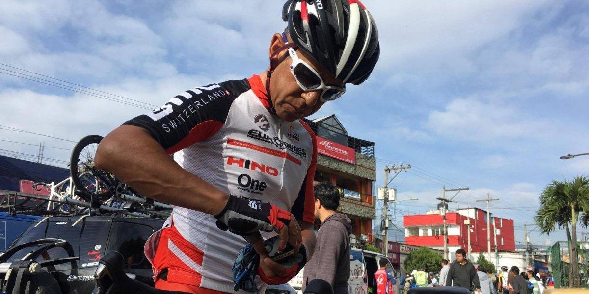 El ciclista más veterano de la Vuelta a Guatemala aconseja a los más jóvenes
