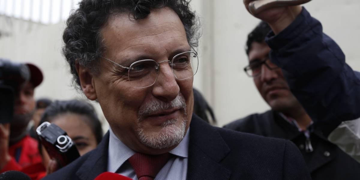 Jorge G. recurrirá a resolución de destitución de contralor