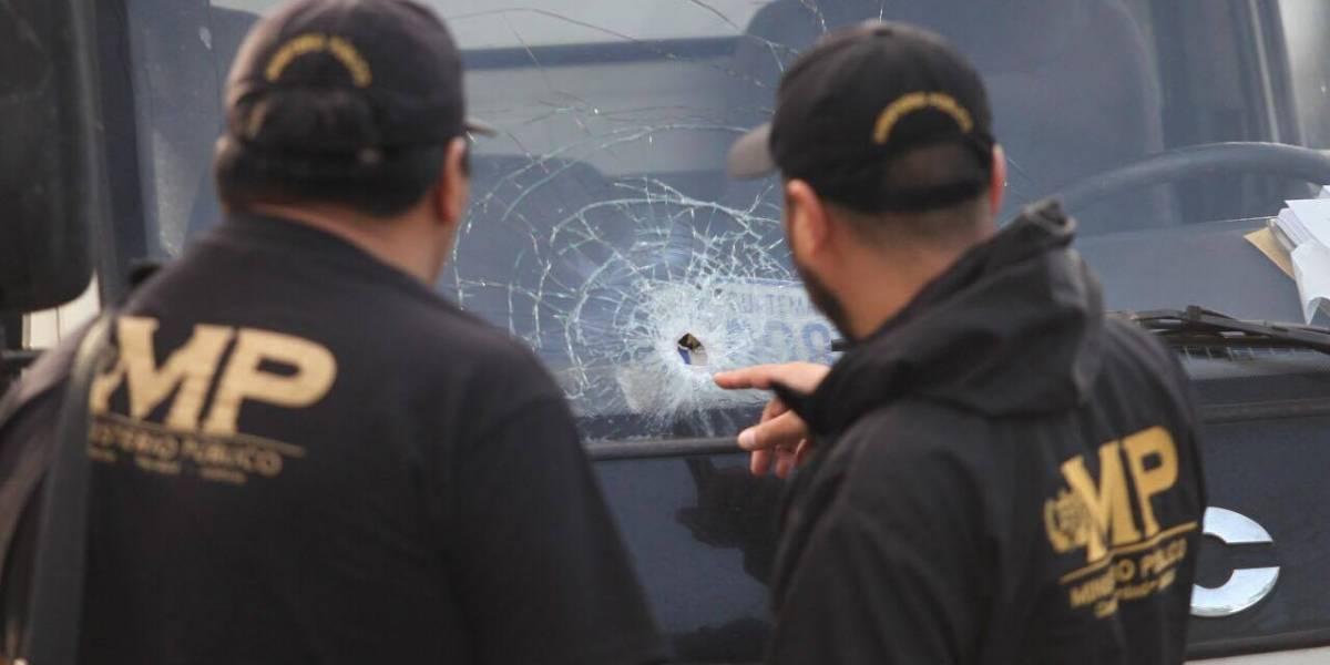 Guardia de camión repartidor frustra asalto