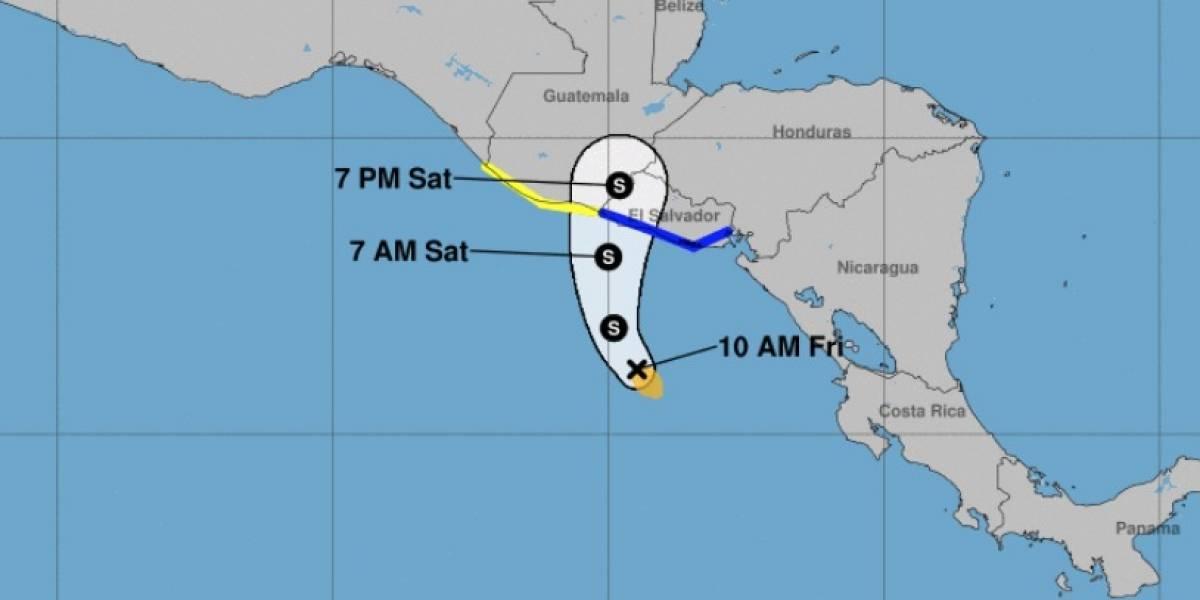 Tormenta Selma avanza hacia El Salvador