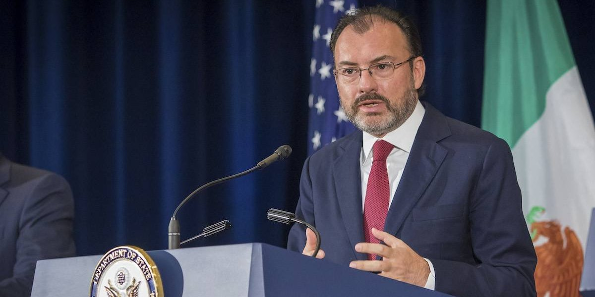 Videgaray se reunirá con Kelly y Kushner en Washington