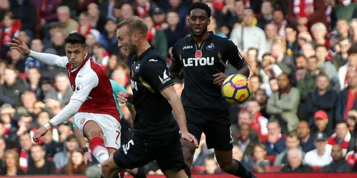 Así vivimos la remontada del Arsenal de Alexis sobre el Swansea City
