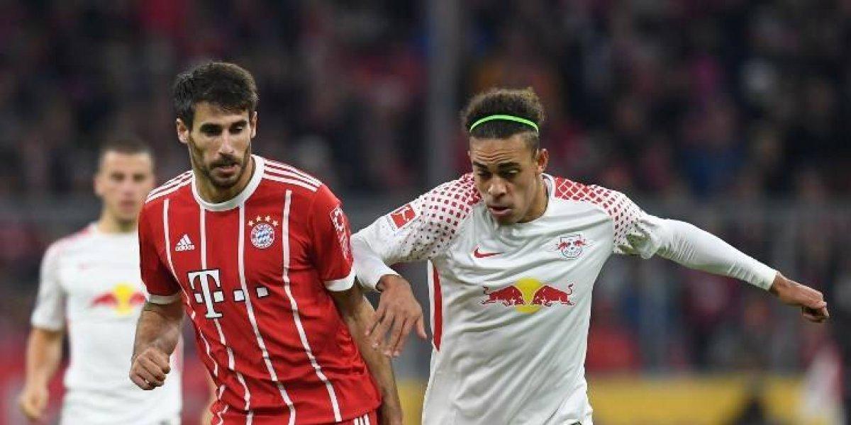 Así vivimos el triunfo del Bayern de Vidal sobre Leipzig y que le permite ser líder