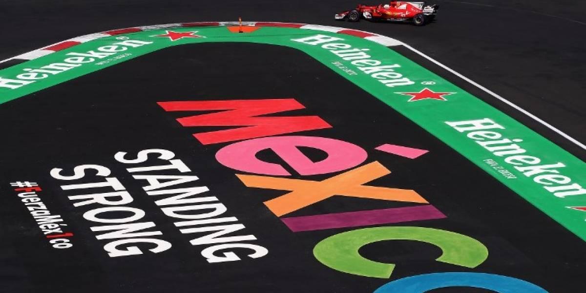 Vettel marca la pole position en México y quiere amargar la celebración de Hamilton