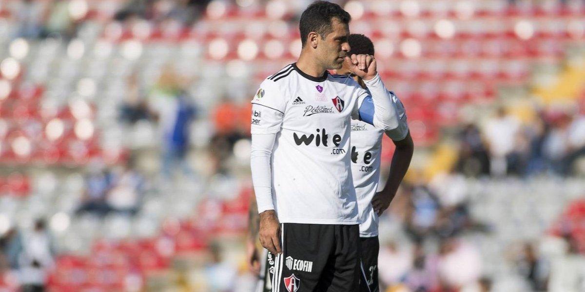 Rafa Márquez volvió a jugar un partido oficial con el Atlas