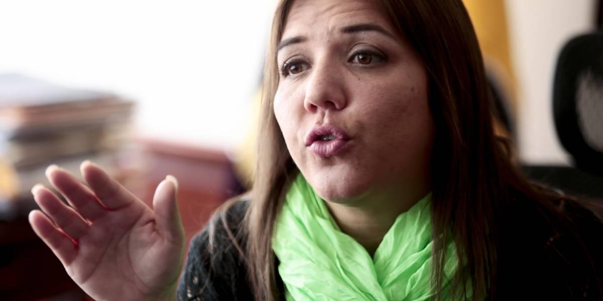 Vicepresidenta María Alejandra Vicuña no descarta ruptura en Alianza PAIS